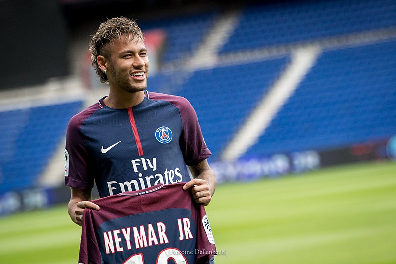 Neymar Jr. Worlds top 10 richest footballers in 2020